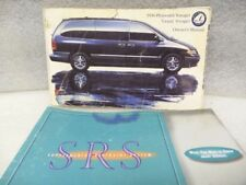 PLYMOUTH VOYAGER   1996 Owners Manual 16678