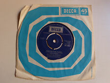 "JULIO IGLESIAS: El amor / Fordbidden games 7"" 1976 English press DECCA FR 13637"