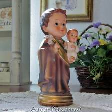 "Inspire a Child! 5"" ST. JOSEPH & CHILD JESUS STATUE FIGURINE Sacred Traditions"