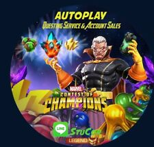 MARVEL CONTEST OF CHAMPIONS 1 FIGHT (Story, Monthly Event Quests) AUTOPLAY MCOC