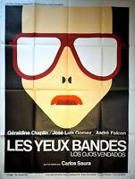 Plakat Kino Les Augen Bänder Carlos Wird Wissen Geraldine Chaplin - 120 X 160 CM
