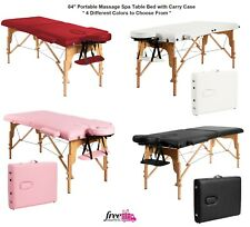 "Portable Massage Table 84"" Facial Spa Bed Tattoo With Carry Case Lightweight"