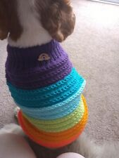 Handmade Knitted Dog Jumper