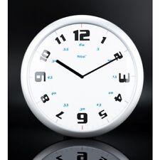 Horloge murale Quartz Analogue ROND BLANC CADRAN Mebus 18352