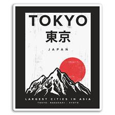 2 x 10cm Japan Tokyo Kyoto Vinyl Stickers - Sticker Laptop Luggage Gift #19307