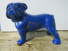 More details for record tools advertising cast metal blue bulldog vintage 3.8kg 15cm tall rare