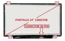 "PANTALLA PARA PORTATIL Lenovo B40-30 Series 14"" WXGA 1366x768 HD LED LCD 30 pin"