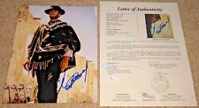 CLINT EASTWOOD SIGNED 8X10 PHOTO DIRTY HARRY OUTLAW JOSEY WALES GOOD BAD JSA