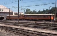 CSS&SB South Shore Bend Railroad Train Yard MICHIGAN CITY IN 1976 Photo Slide