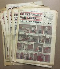 COEURS VAILLANTS - Année 1938