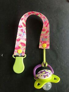 Handmade Pacifier Holder - Disney - Winnie the Pooh - Eeyore, Tigger and Piglet