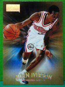 Allen Iverson regular card 1997-98 Skybox #100
