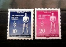 Germany - DDR Sc. 236-237 Victims Of Fascism 1955 - MH