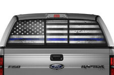 Ford F150 Raptor F-150 BLM Rear Window Tint Police Sticker Decal 2010-2014