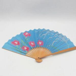 Vintage Femmes Bambou & Papier Eventaille