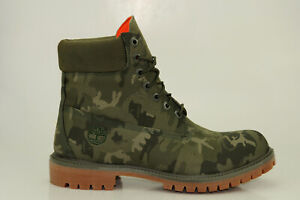 Timberland 6 Inch Premium Waterproof Boots Men Lace up Boots Camouflage A1U9I