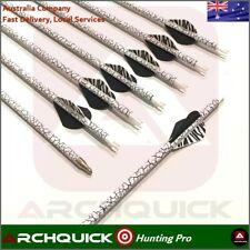 ARCHQUICK 31'' Camo Carbon Arrows Archery Recurve Compound Bow Hunting 12pcs