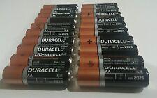 20 Pack of Duracell MN1500 AA 1.5V Alkaline Coppertop Batteries Bulk Expire 2027