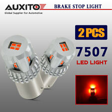 AUXITO 2x 7507 1157 BAY15D LED Tail Stop Brake Light RED Bright Bulbs P21-5W
