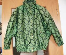 Original Vintage, Bogner Jacke in Grün Schwarz, Jacket, größe 38