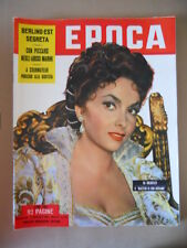 EPOCA 153 1953 Con Piccard negli abissi Lollobrigida Berlino Est segreta [G771]