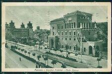 Ferrara città Giardini Pubblici cartolina QT4646