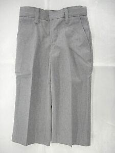 Boys Flynn O'Hara Gray Uniform/Casual Pants Sizes 7 Slim, 3 - 12Reg. & 8-10Husky