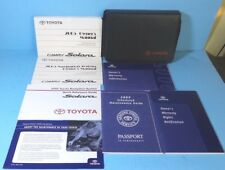05 2005 Toyota Camry Solara owners manual with Navigation