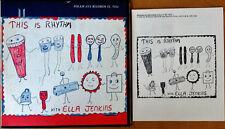 ELLA JENKINS - THIS IS RHYTHM  - FOLKWAYS LP + BOOKLET - 1961