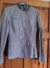 S'nob Ladies Jacket And Short Suit Size S