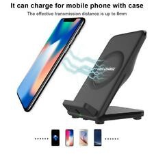 10W QI Wireless Charger Charging Adapter Stand Holder for Mobile Phone With Fan