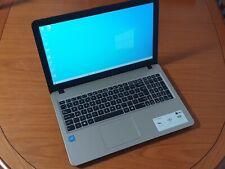 ASUS X540S - Intel Pentium N4000 1.1Ghz CPU ,4Gb Ram 500Gb HDD -Windows 10