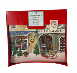 18 Christmas cards with envelopes All One design Grand Award