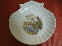 Conchiglia in Ceramica Costumi d'Epoca DECORS DE PARIS Made in France 21x21cm