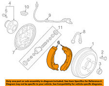 GM OEM Brake-Shoes 96473228