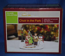 Forever Gifts Village~Christmas~Choir in the Park~Children~Snowman~AC Moore~NEW!
