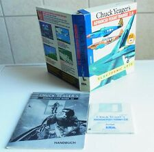 Amiga:  Chuck Yeager's Advanced Flight Trainer 2.0 - Eletronic Arts 1990