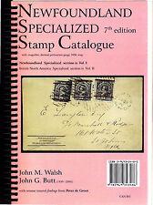 Newfoundland Specialized Stamp Catalogue 7th Edition Vol.1 w/Postcards 2010 Cvrs