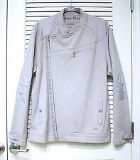 calvin Kein gray biker jacket XL