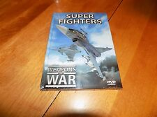 WEAPONS OF WAR SUPER FIGHTERS Fighter Air Force Aircraft Planes Military DVD NEW