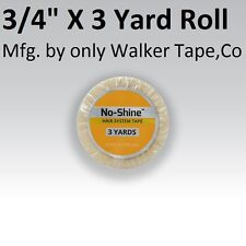 No Shine Lace Support Tape 3/4 in X 3 yard Full Head Bond Walker Tape New Label
