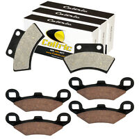 Caltric Brake Pads for Polaris 250 2X4 4X4 1990 1993 Front Rear Brakes