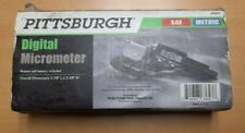 *New* With Battery Pittsburgh Digital Micrometer - SAE & METRIC (Model 63647)