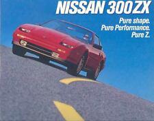 1987 Nissan 300ZX Brochure my3309