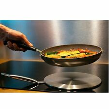 "Induction Cooktop Converter Interface Disc 9.5"" Stainless Steel Plate Cookware $"