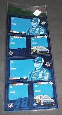 JIMMIE JOHNSON #48  Christmas Self Sticking Gift Tags  PK 18  NEW-**Rare***