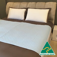 Washable incontinence bed pad, absorbent, waterproof, tuck-in flaps ALL SIZES