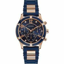 GUESS W1234L4 Breeze Quartz Diamond Blue Dial Ladies Watch
