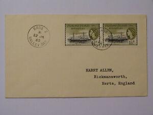 FALKLAND ISLANDS DEPENDENCIES 1960 BASE Z * HALLEY BAY