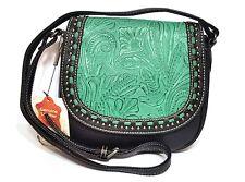 Montana West Trinity Ranch Western Genuine Leather Western Crossbody Bag